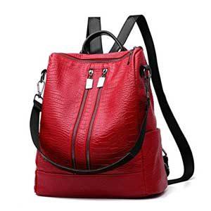 Bolso mochila CrazyShell rojo