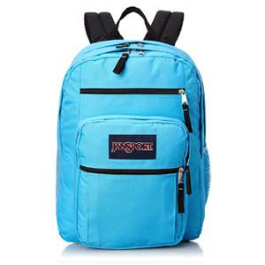 Mochila JanSport Big Student color celeste