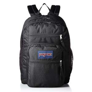 Mochila JanSport Big Student color negro