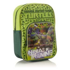 Mochila escolar de las Tortugas Ninja