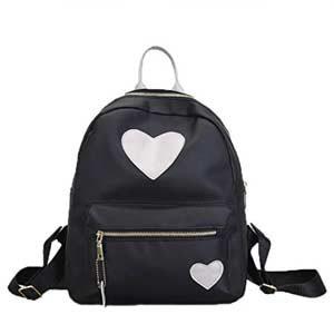 Mochila bolso con corazón