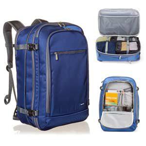 Mochila equipaje de mano, azul