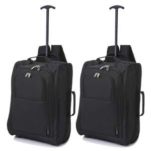 Mochila equipaje de mano color negro