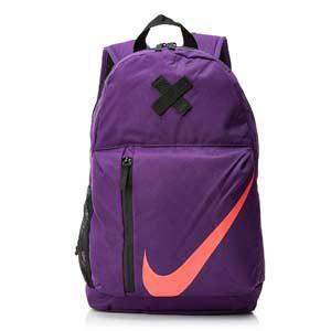 Mochila Nike Elmmtl Bkpk, color morado