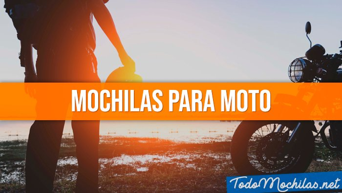 Mochilas para moto